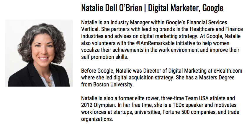 Natalie Dell O'Brien Google